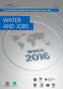 """O relatório da ONU é publicado anualmente desde 2014 e temas variam a cada edição; este ano, o assunto tratadofoi """"Água e empregos"""" (Crédito - ONU/WWDR)"""