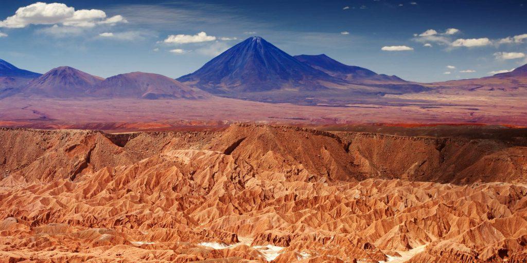 Deserto de Atacama, no Chile,