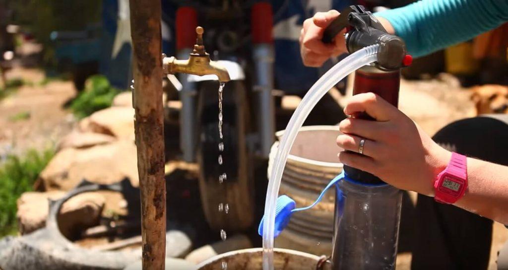MSG Guardian pode filtrar até 10 mil litros de água (Foto: MSR/Reprodução)