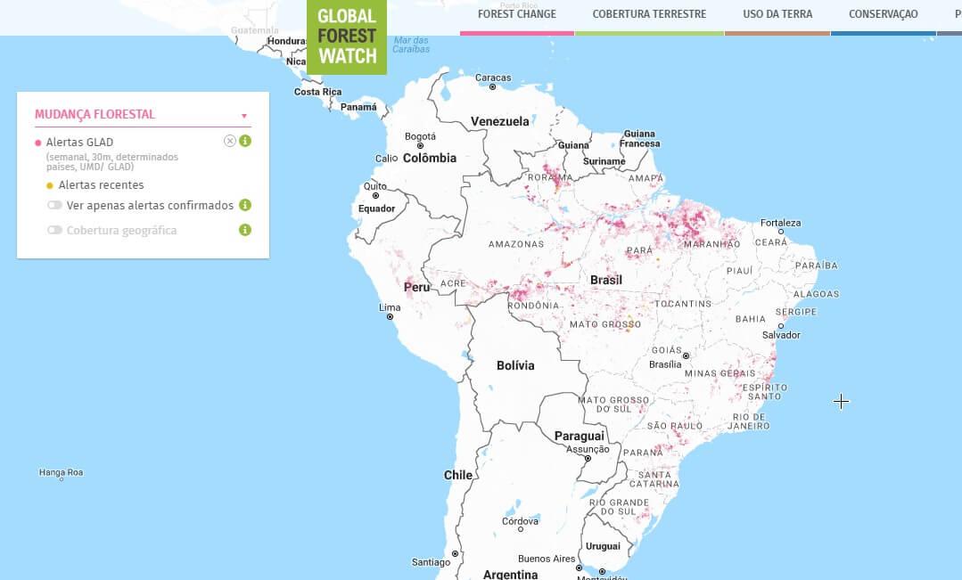 glad florestas brasileiras