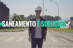 Vídeo mostra por que investir em saneamento é um bom negócio