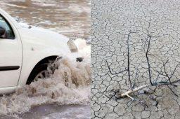 Uma em quatro cidades brasileiras está em estado de emergência por chuva ou seca