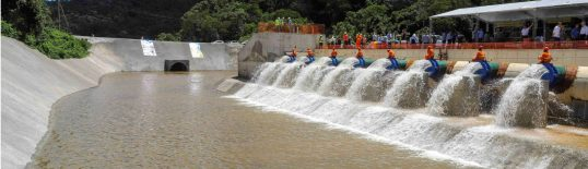 Transferência de água no Sistema Cantareira