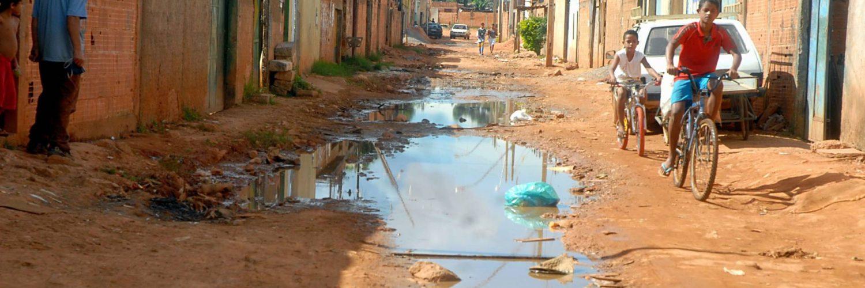 Brasil: 72 milhões de pessoas não têm acesso à rede geral de esgoto