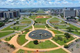 Vista aérea de Brasília. Crédito: PxHere